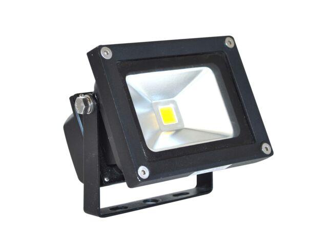 gardenlights Gartenstrahler 12 Volt Flood 15  Aluminium-Glas LED 13 Watt