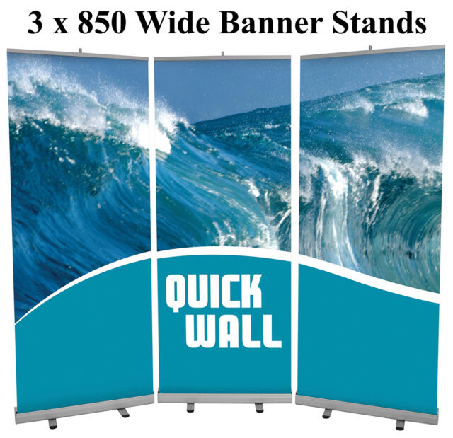 EXHIBITION DISPLAY ALTERNATIVE TO POP UP DISPLAY STAND HIGH END PRINTING 1440dpi