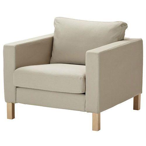 Beau IKEA Karlstad Chair Armchair Cover Slipcover Sivik Beige | EBay