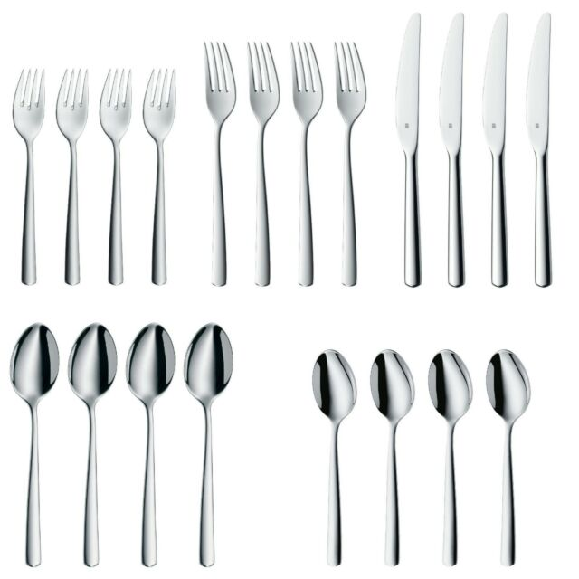 WMF Manaos 20-Piece Stainless Steel Flatware Set