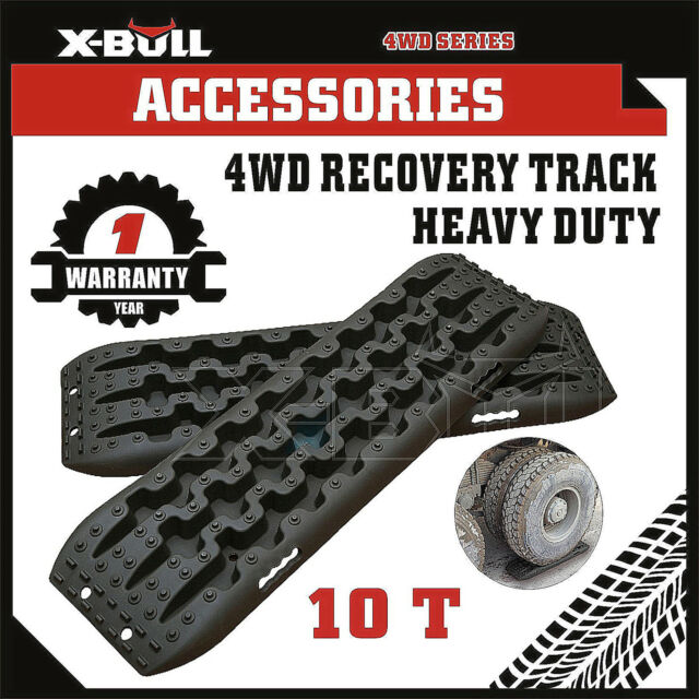 X-BULL NEW Sand Track 2pc Recovery Tracks 10T 4x4 Vehicle Sand/Snow/Mud Trax