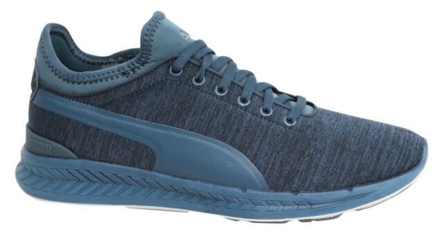 Puma Ignite Sock Jersey con lacci blu sneaker uomo 362352 03 P6