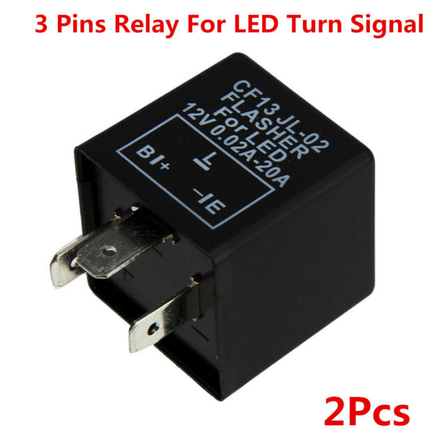 2x3 Pin Cf13 Electronic Flasher Relay Fix LED Turn Signal Light Fast
