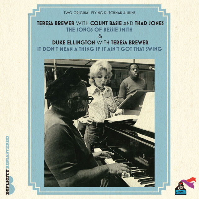 Teresa Brewer With Count Basie And Duke Ellington - The Songs Of Bessie Smith