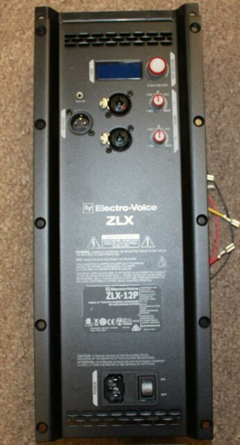 electro voice ev zlx 12p replacement power amp assembly ebay. Black Bedroom Furniture Sets. Home Design Ideas
