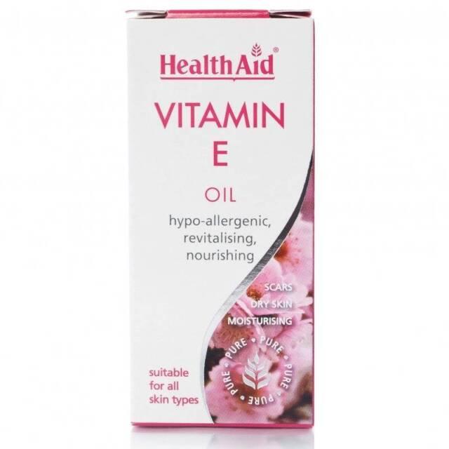 HealthAid Vitamin E 100% Pure Oil 50ml