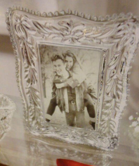 3pc Fifth Avenue Baroque Crafted Crystal Gift Set Votive Picture ...