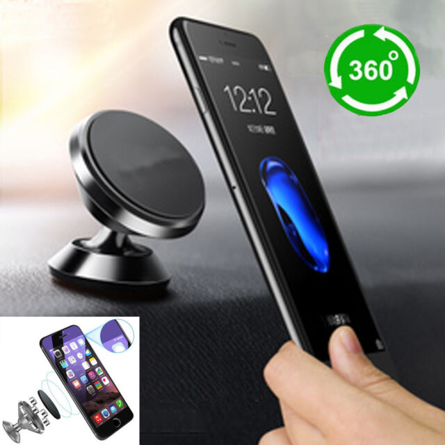 Universal Magnetic Car Mount Cell Phone Holder Stand For
