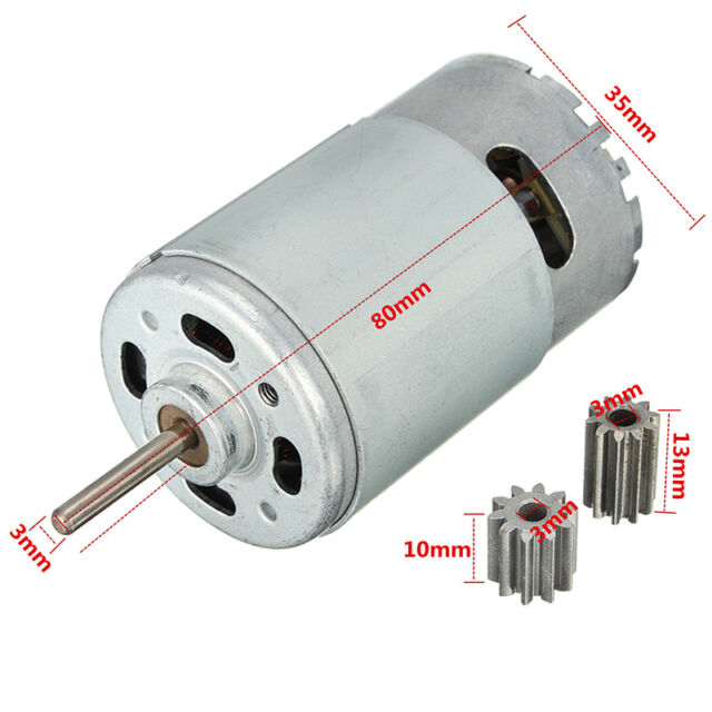 12v dc motor for children car traxxas r c and power wheels