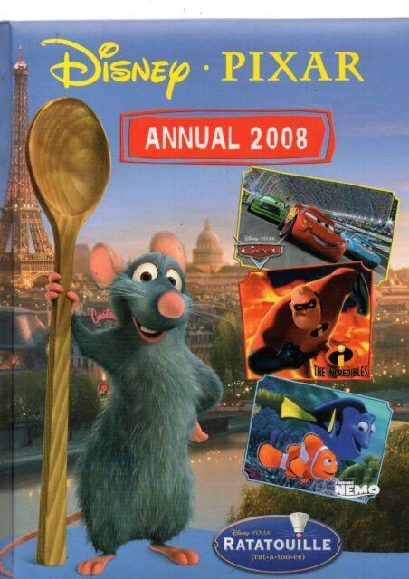Disney : Pixar Annual 2008 (Hardback, 2007)