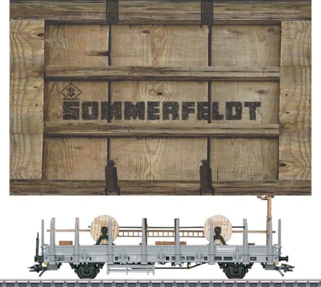 """Märklin 48117 Museumswagen 2017 HO """"Sommerfeldt"""" - fabrikneu in der Dose"""