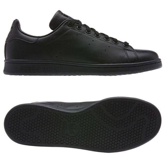 Adidas Originals Formateurs En Cuir Smith Stan En M20327 Noir - Noir QYSXSD