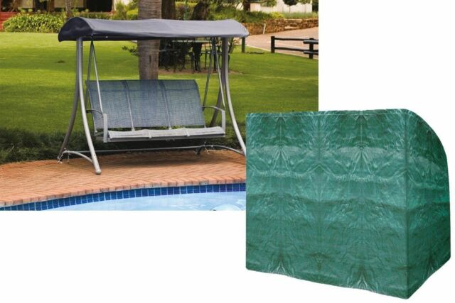 Medium image of 3 seater hammock cover for garden swing made of heavy duty durable polyethylene