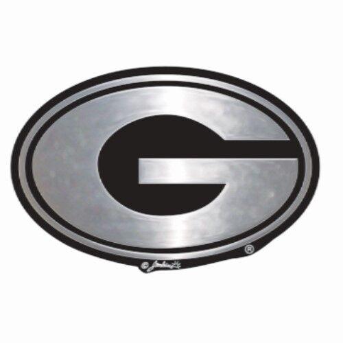 Uga Georgia Bulldogs Chrome Auto Car Emblem Ebay