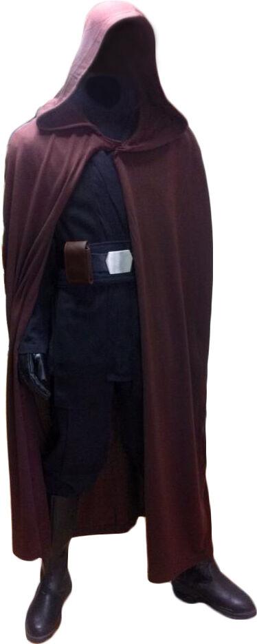 luke skywalker jedi robe only quality star wars costume cloak from