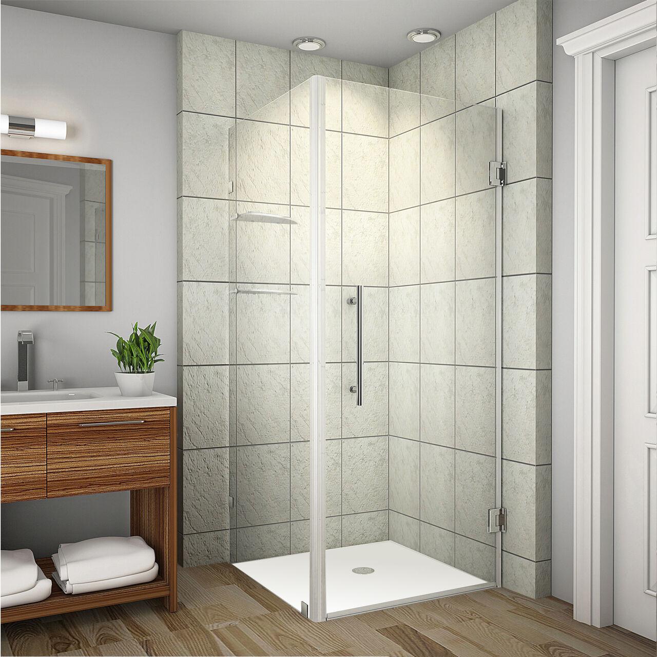 Aston Global Sen993 Aquadica GS Completely Frameless Square Shower ...
