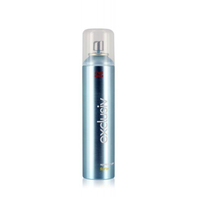 Wella Exclusiv Forte lacca spray no gas ecologica 250ml