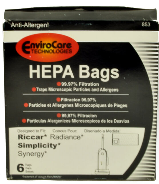 Envirocare Vacuum Cleaner Bags For Riccar Radiance
