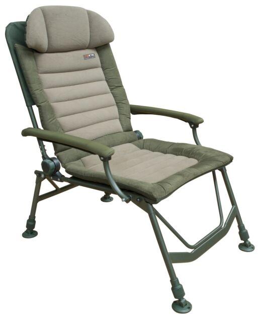 Fox FX Super Deluxe Recliner Chair CBC047 Stuhl Angelstuhl Karpfenstuhl