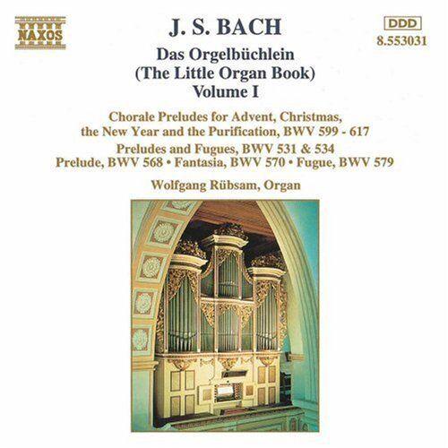 J.S. Bach, Wolfgang Rubsam - Little Organ Book 1 [New CD]