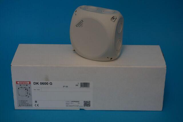 Hensel DK 0600 G Abzweigdose 5 Stck. AP IP66 130x130x77mm Abzweigkasten