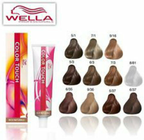 Wella Professionals Color Touch Cream Dye 60 Ml 9 16 Ebay