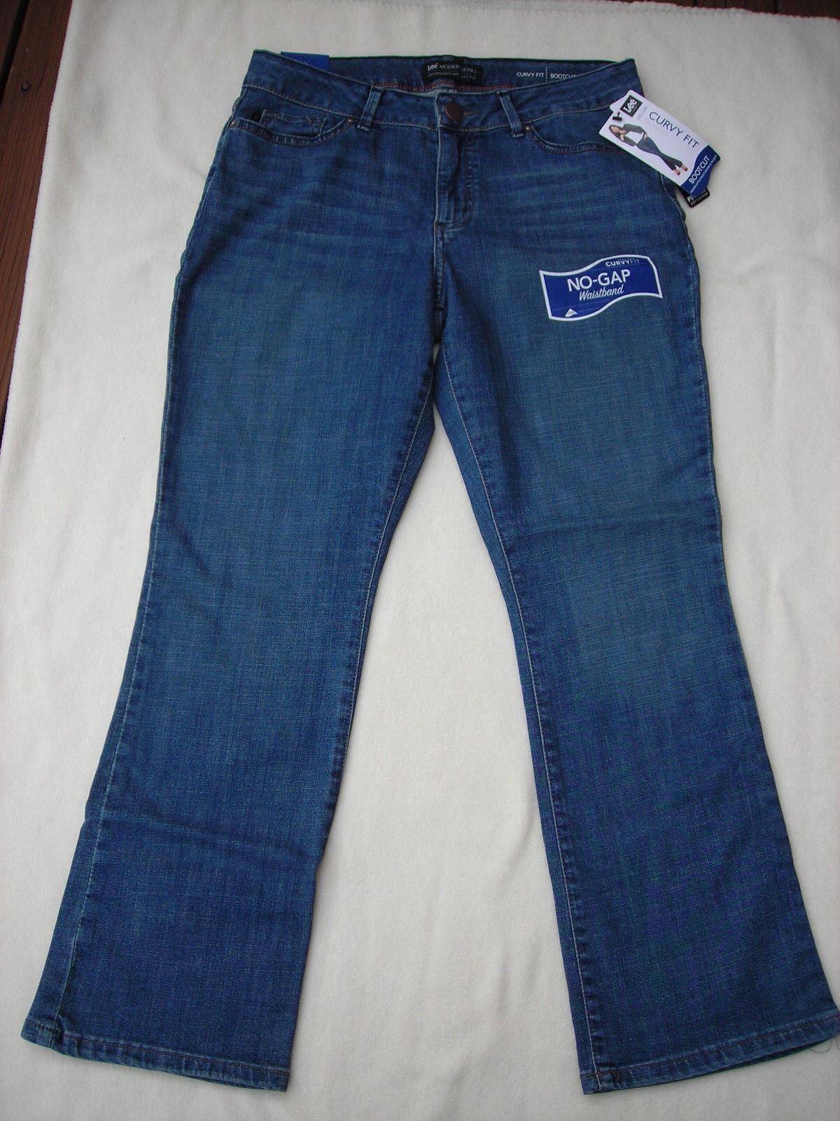 Lee curvy fit bootcut jeans petite