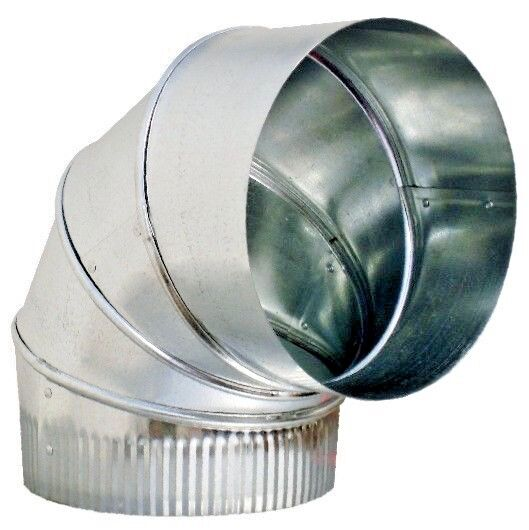 Metal Heating Ducts : Quot duct elbow degree hvac sheet metal ebay