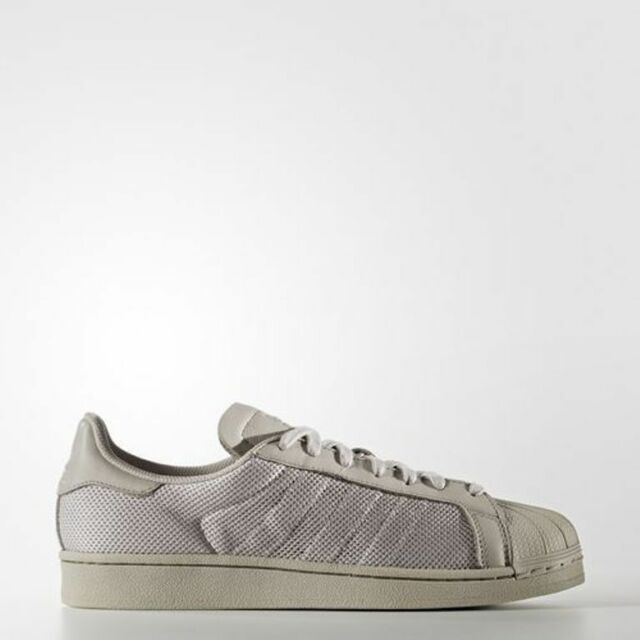 Men's adidas Superstar Triple Casual Shoes Clear Granite