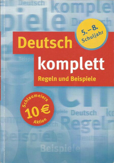 Deutsch komplett, 5.-8. Schuljahr von Fabian Grabbe, u.a. /  #b22