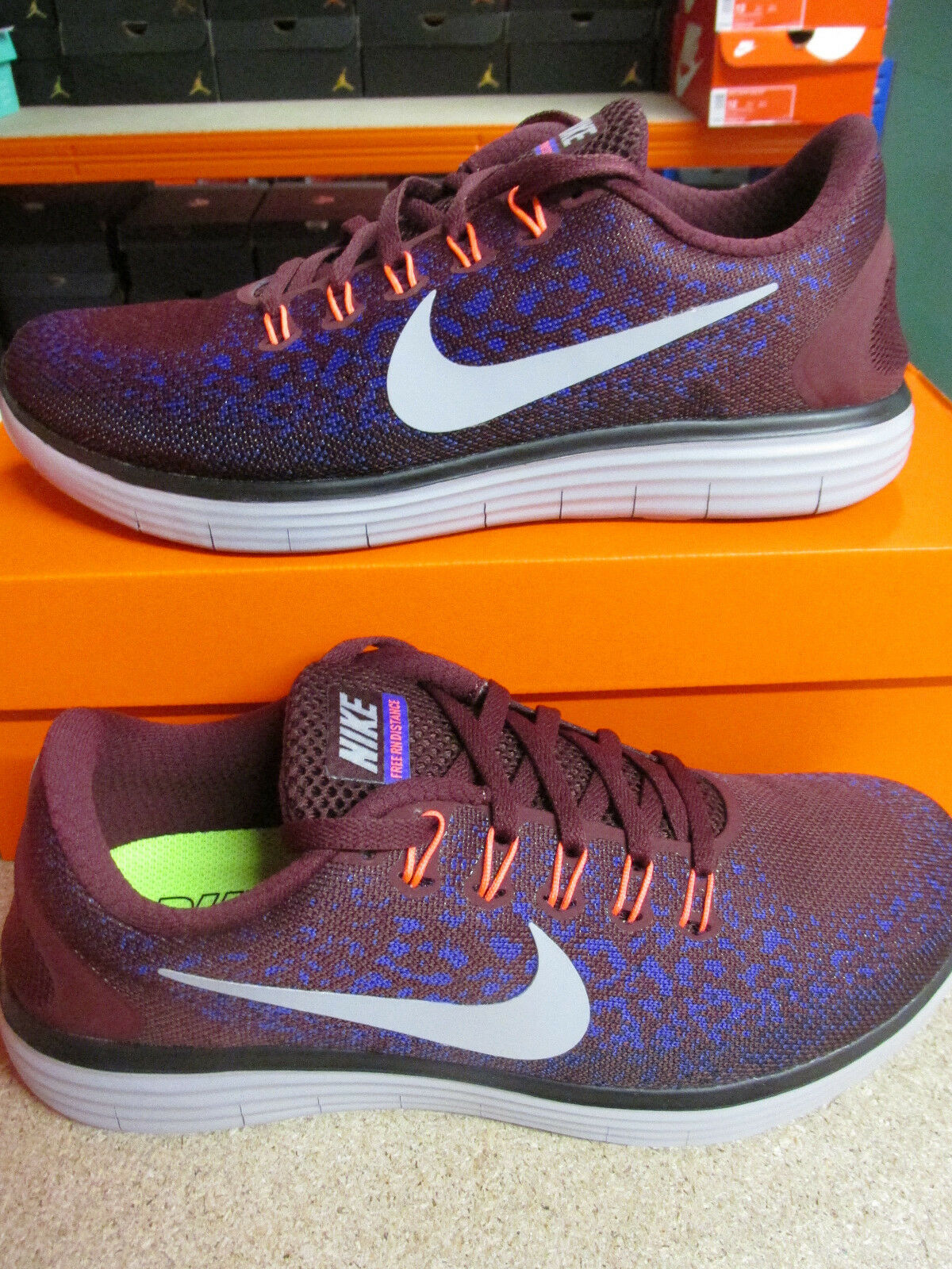 release date f9f54 b9fdb Nike Free Rn Distance scarpe uomo da corsa 827115 600 Scarpe da tennis