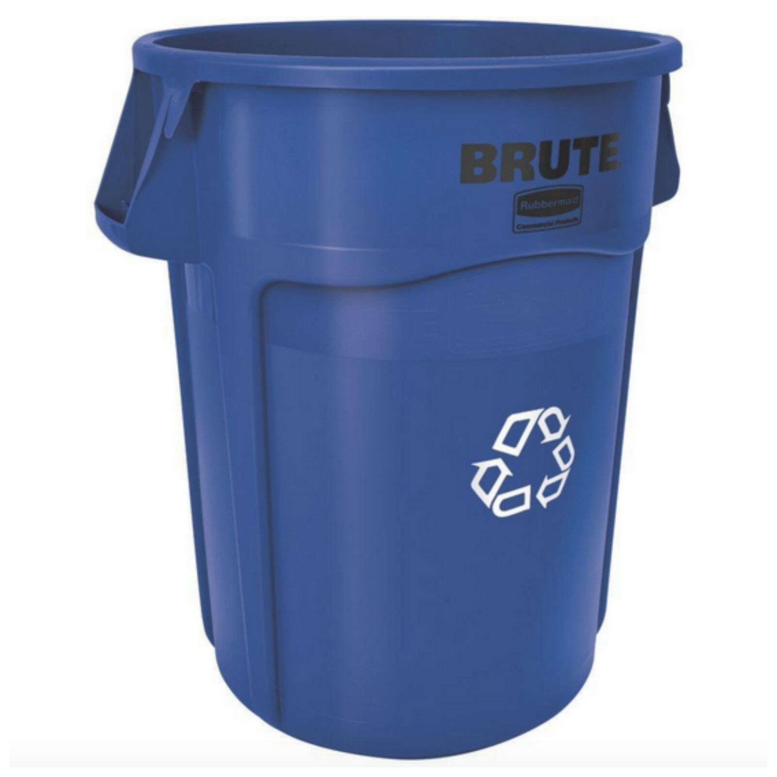 Rubbermaid Commercial Brute Recycle Bin Trash Cans Container Plastic ...