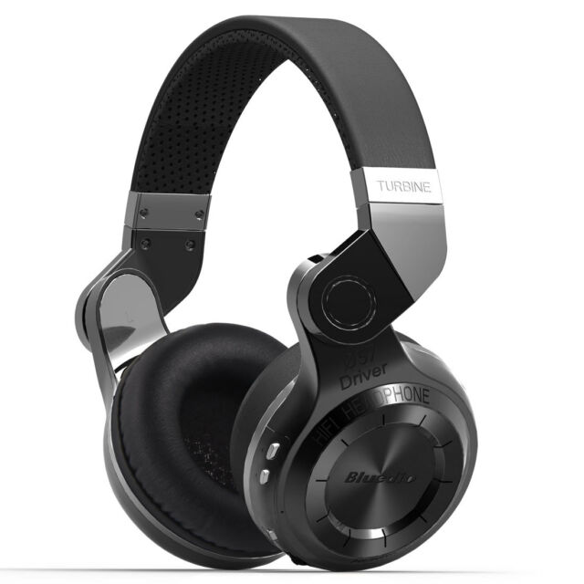 Neuf Bluedio T2 Casque Bluetooth  sans fil Stéréo Écouteur Microphone Noir