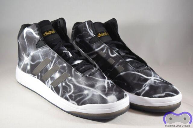 Adidas Veritas Mid Originals casual zapatos de los hombres b24355 negro blanco 8