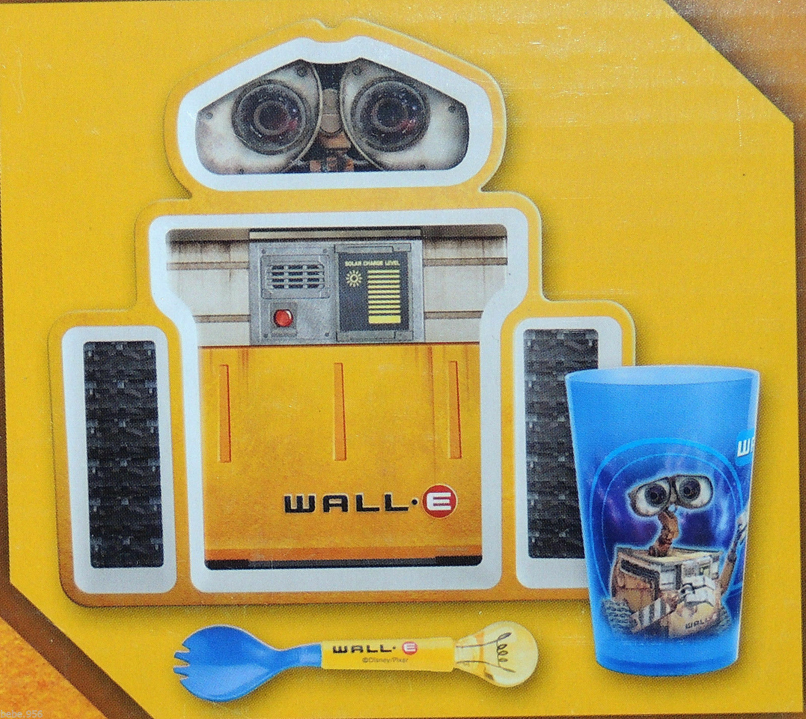 Disney Pixar Wall E Dinnerware Set Plate Cup and Bowl | eBay