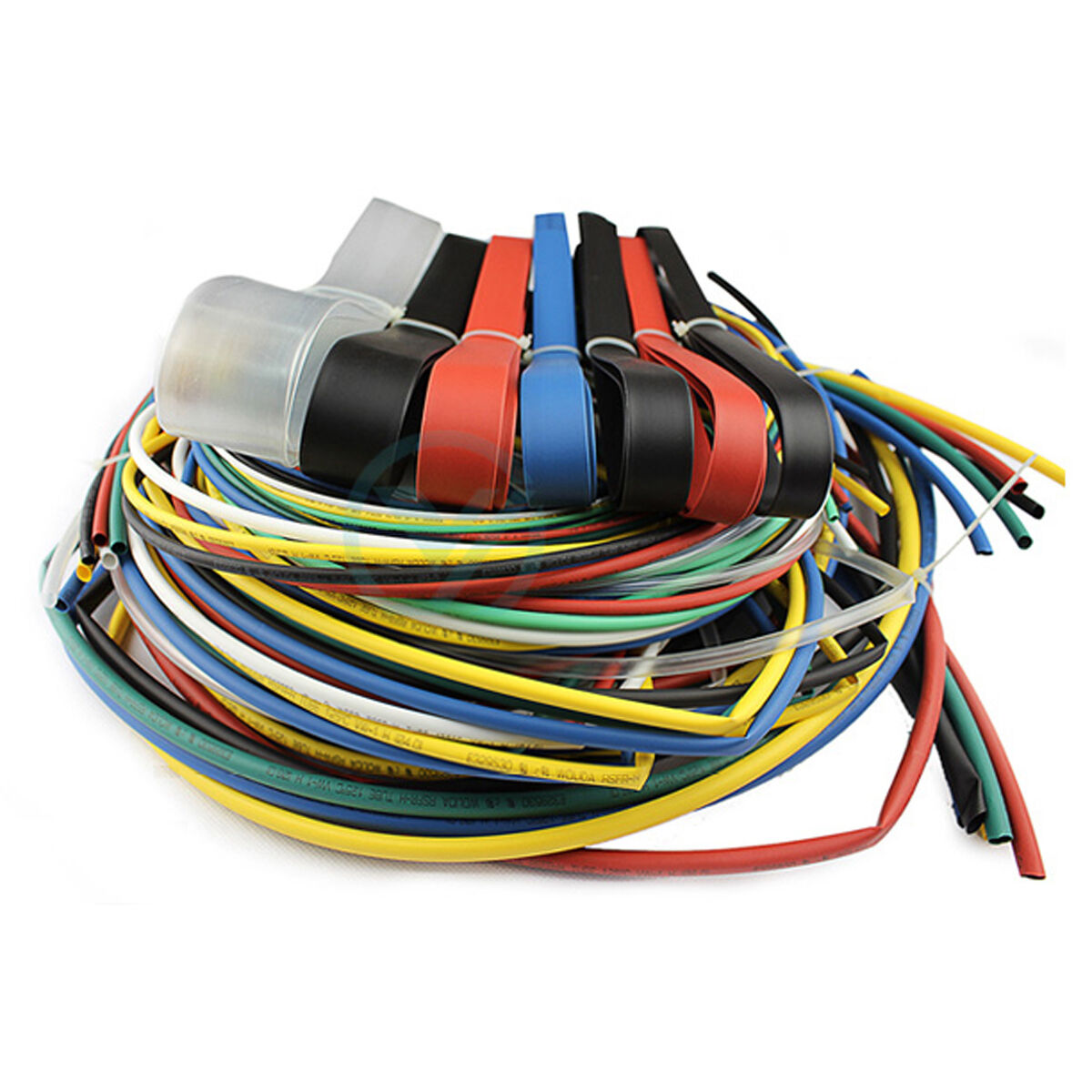 Sleeve Heat Shrink Wiring Harness Schematic Diagrams Tubing 73 Meters 11 Sizes Wire Cable Sleeves Tubes Rings