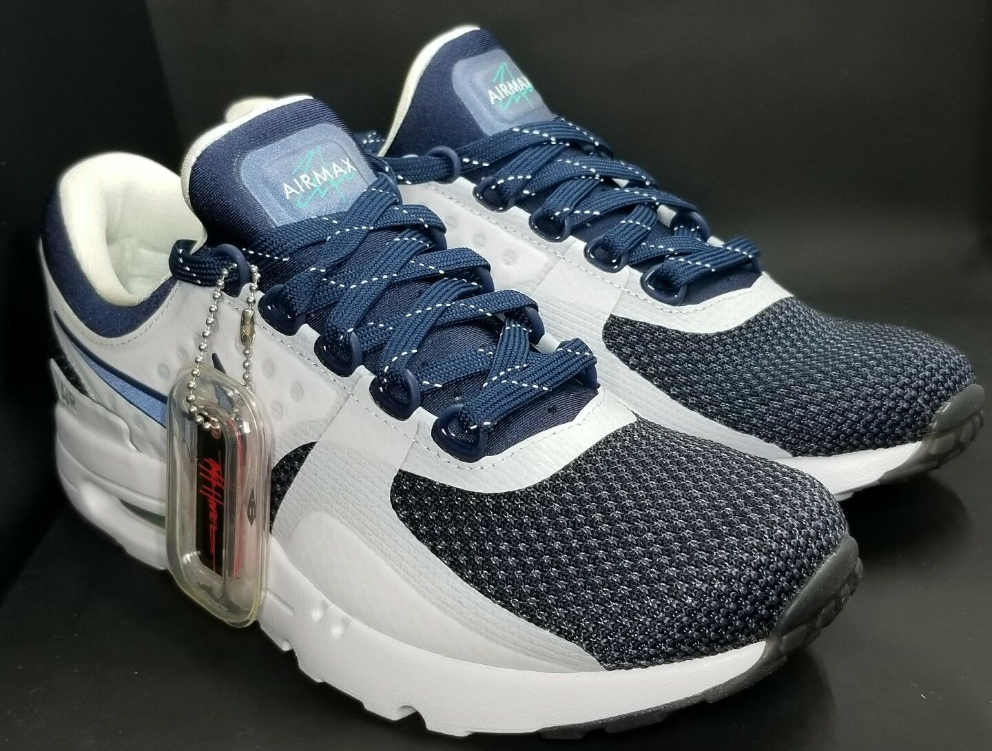 finest selection 84c98 75ece item 1 Nike Air Max Zero OG QS White Midnight Navy 789695-104 Sz 6.5  LIMITED -Nike Air Max Zero OG QS White Midnight Navy 789695-104 Sz 6.5  LIMITED