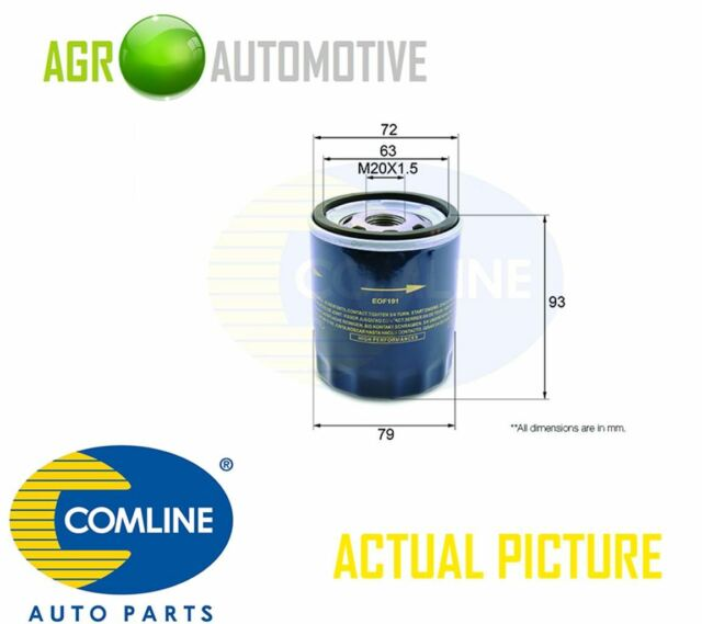COMLINE ENGINE OIL FILTER OE REPLACEMENT EOF191