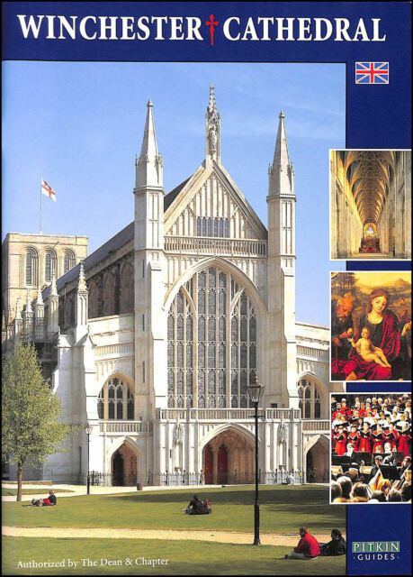 Winchester Cathedral - A Pitkins Pictorial guide book. by Crook, John