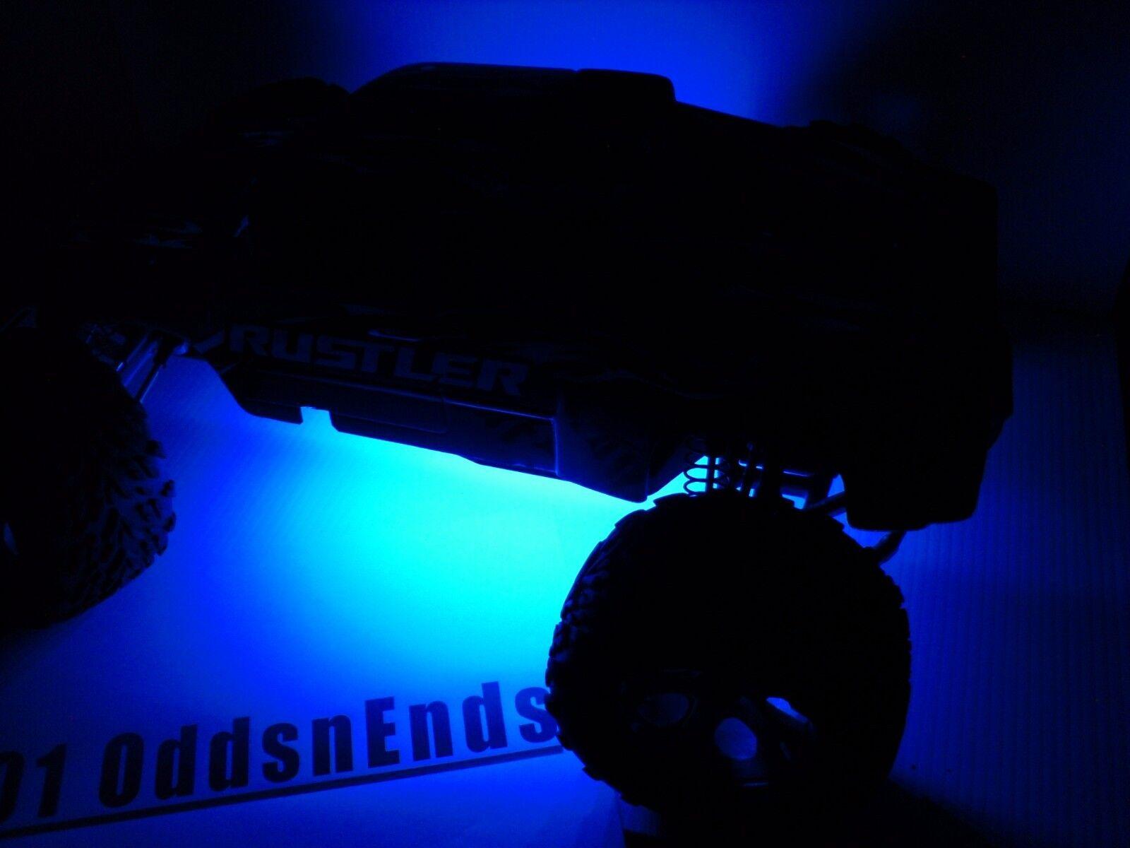 Blue traxxas rustler bandit universal 110 rc led strip lights plug picture 1 of 4 aloadofball Gallery