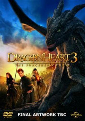 Jassa Ahluwalia, Dominic Ma...-Dragonheart 3 - The Sorcerer's Curse  DVD NEW