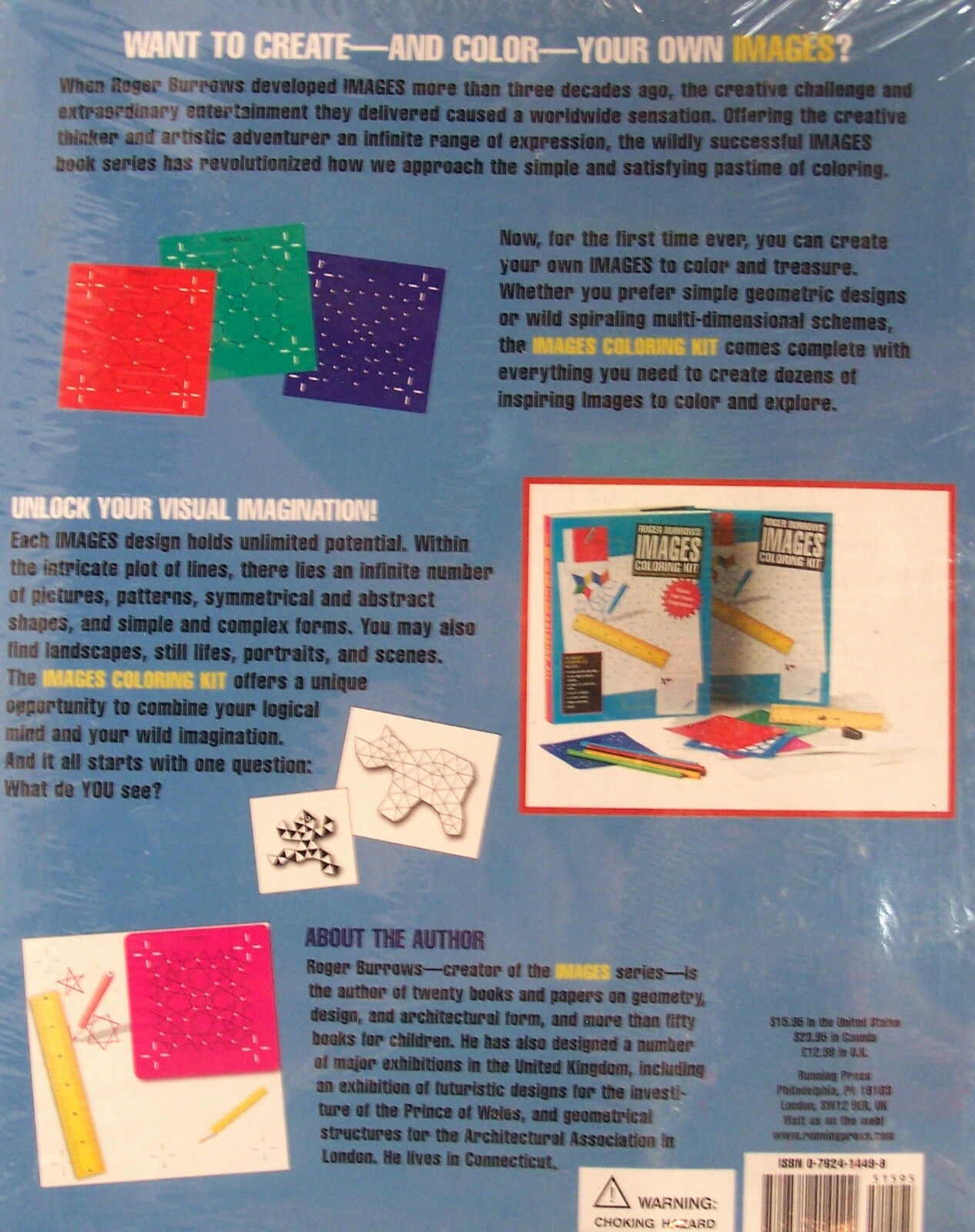 Roger Burrows Images Coloring Kit by Roger Burrows (2003, Paperback ...