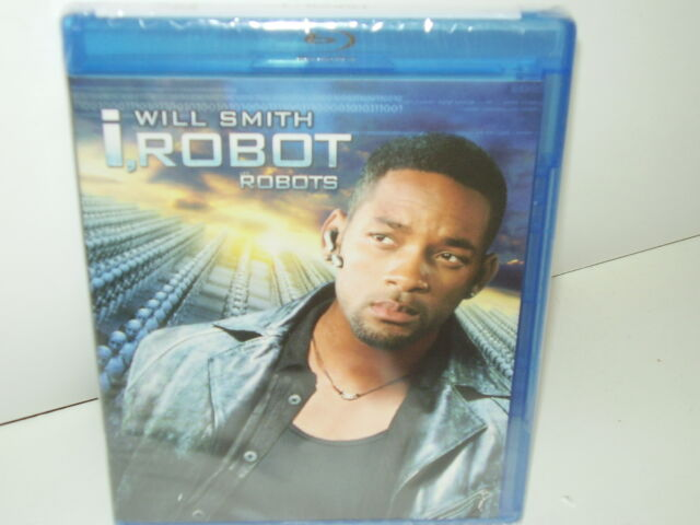 I, Robot (Blu-ray, Canadian, Region A, 2008) NEW - Many Extras - No Tax