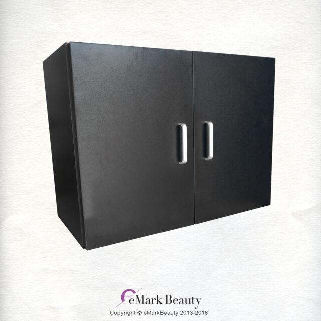 Upper Towel Storage French Door Cabinet For Beauty Salon Shampoo Bowl  TLC TCD