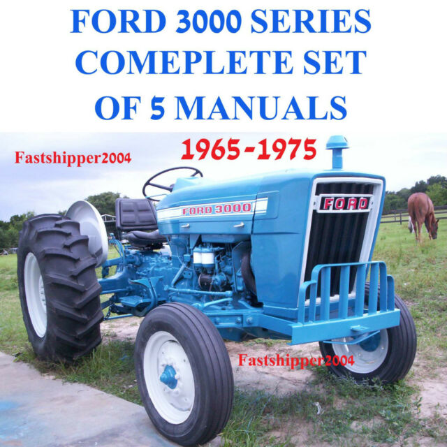 Ford 3000 Tractor Parts Catalog : Ford series tractor service parts catalog owners