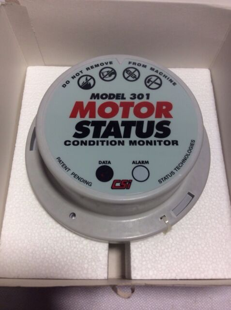 CSI MODEL 301 A0301SP MOTOR STATUS CONDITION MONITOR REV 09 TYPE 4 NEW