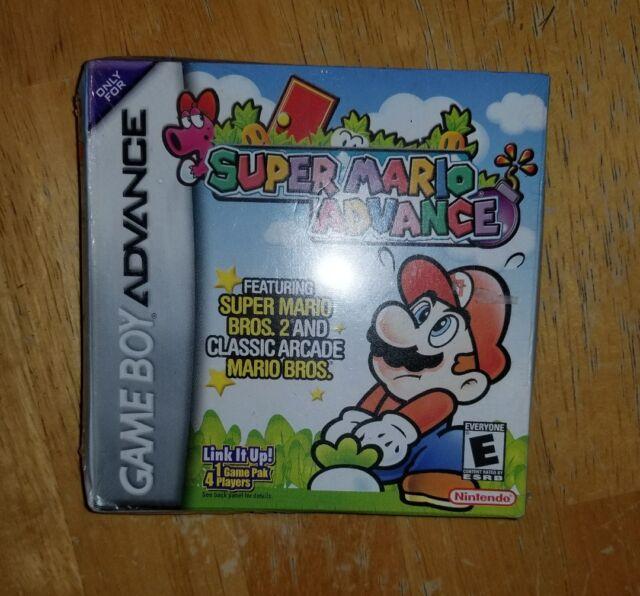 NIB Super Mario Advance (Nintendo Game Boy Advance, 2001) NEW