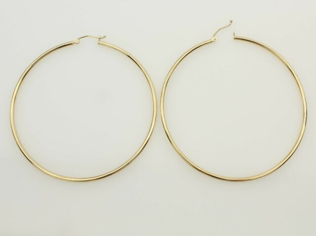 14k Yellow Gold 2mm Thickness Classic Polished Extra Hinged