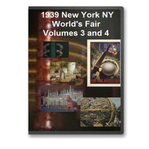 1939 New York NY World's Fair Complete 4 DVD Set - World of Tomorrow - A15-18