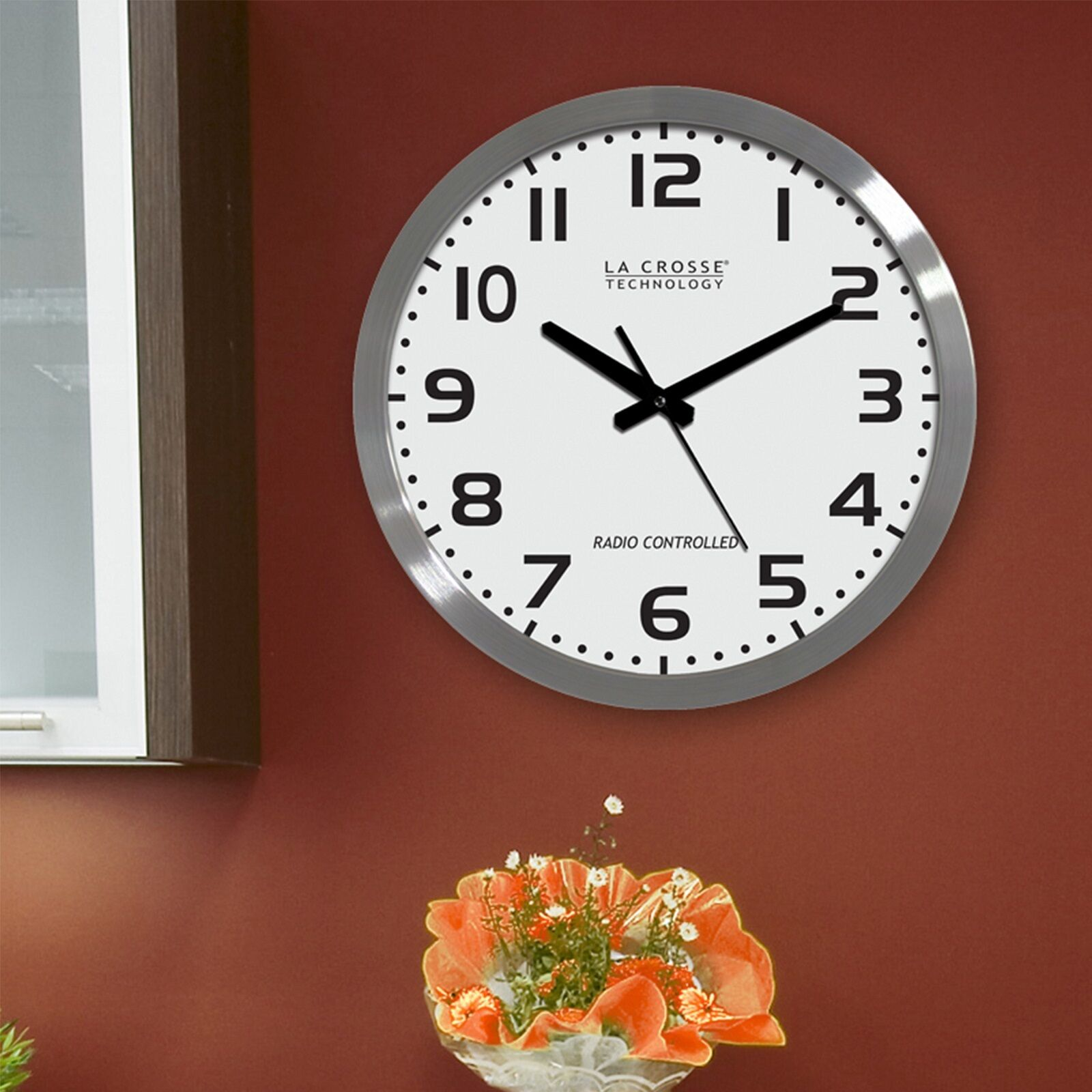 La crosse technology wt 3161wh dial stainless steel 16 inch analog la crosse technology wt 3161wh dial stainless steel 16 inch analog atomic clock ebay amipublicfo Gallery